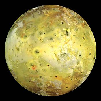 Ío, el satélite de Júpiter