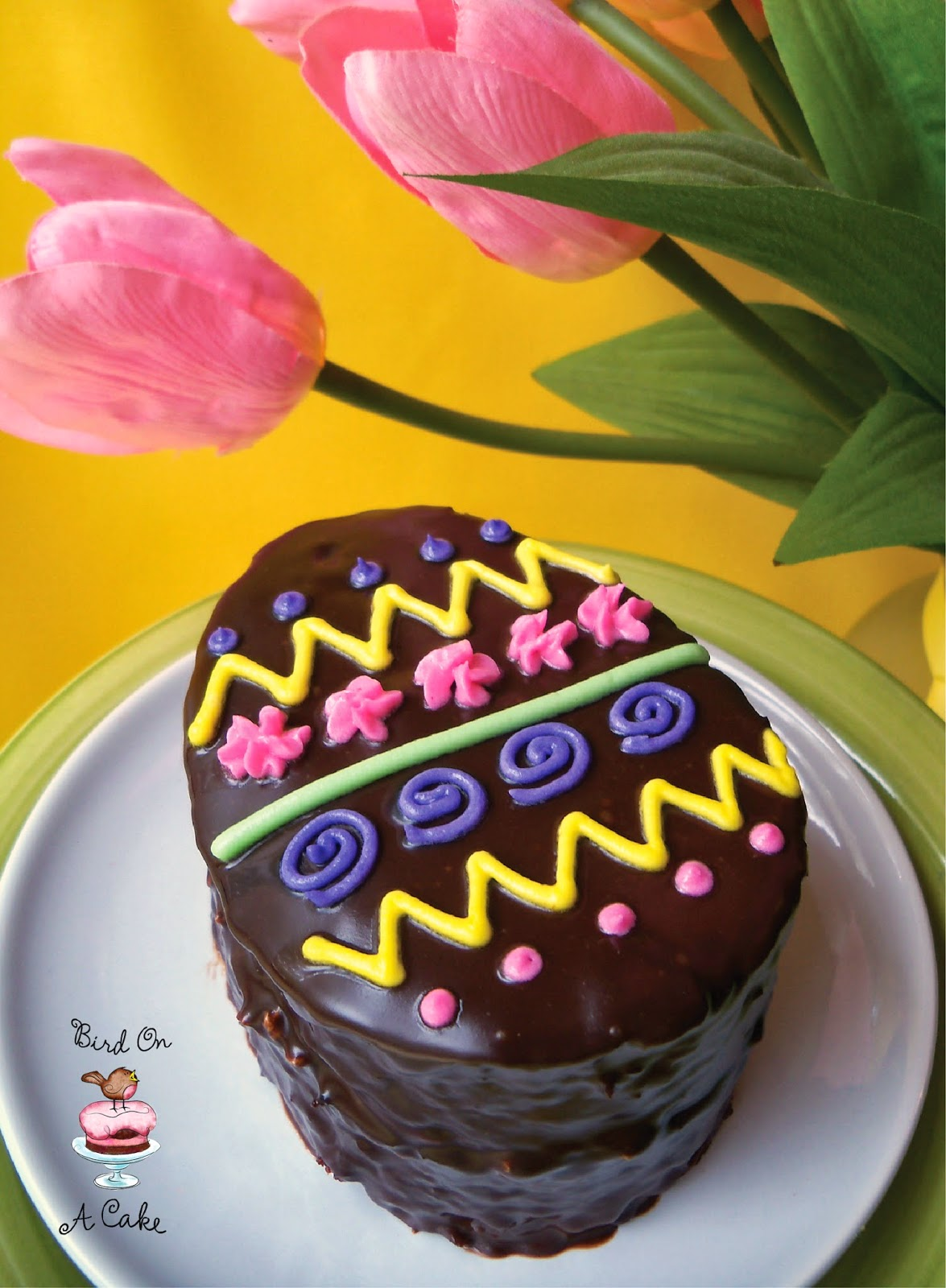 http://birdonacake.blogspot.com/2013/03/chocolate-easter-egg-mini-cakes.html