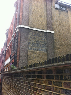 Ghost sign, London W1