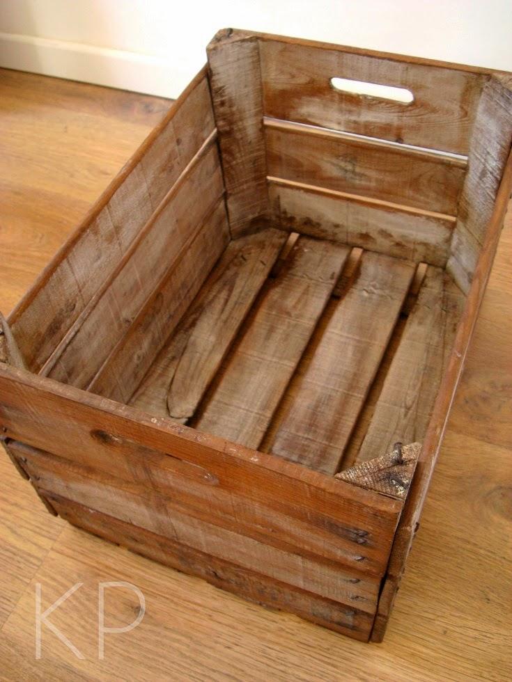 Kp tienda vintage online caja de madera vintage vintage wooden box ref h6 - Cajas de madera online ...