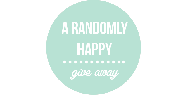 Randomly Happy giveaway