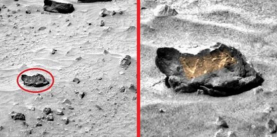 foto rover spirit en Marte