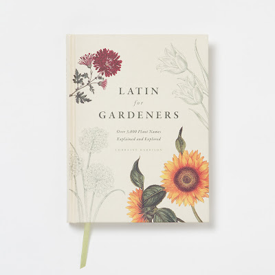 book, gardening, latin, root words, botany, flowers, plants, nomenclature