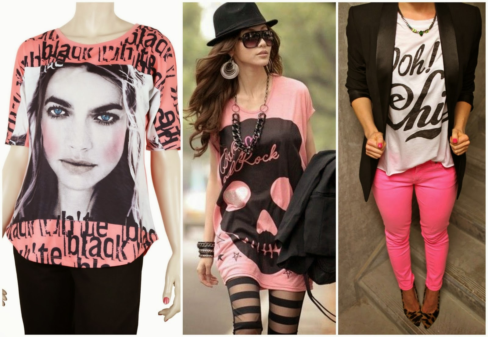 Deal printed pink top, printed pink to fashion, pink fashion