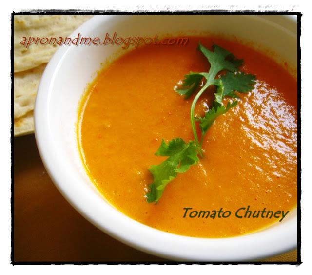 Orange Tomato Chutney