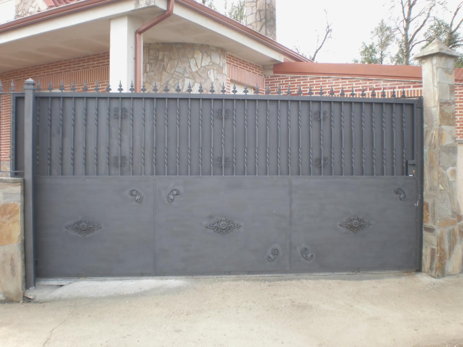 Carpinteria metalica charro modelos varios puertas de for Puertas metalicas modelos