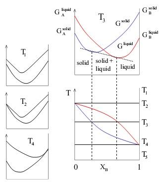 Saading dong januari 2013 maka diperolehlah sebuah diagram fasa biner sebperti gambar dimana garis merah berarti fasa liqud dan garis biru berarti fasa solid ccuart Image collections