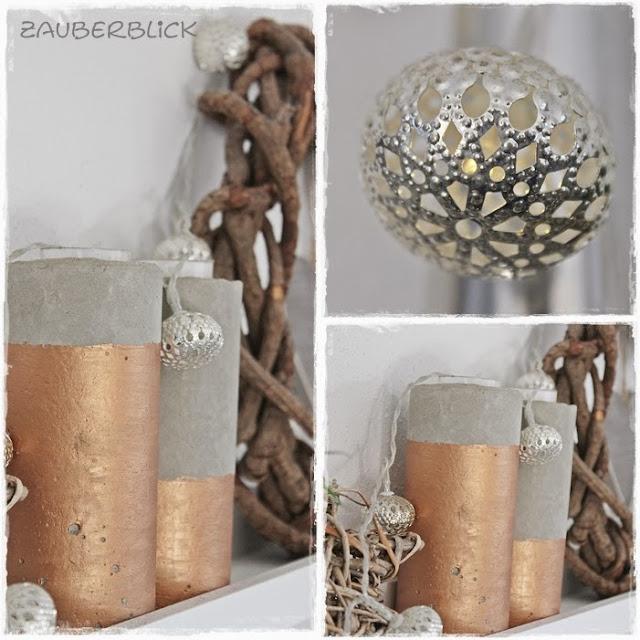 Zauberblick herbstdeko for Kupfer deko