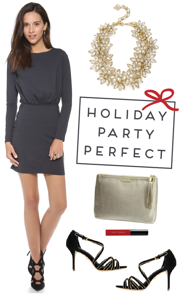 holiday party perfect via {long distance loving}!