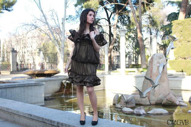 diana dazzling, fashion blogger, cmgvb, como me gusta vivir bien, Lanvin, dress, romantic look
