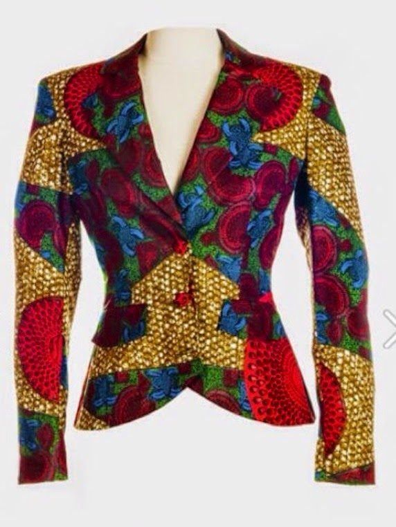 Collective African Designs African Print Jacket