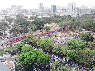 Demo Buruh 1 September 2015 Hari Ini di Jakarta