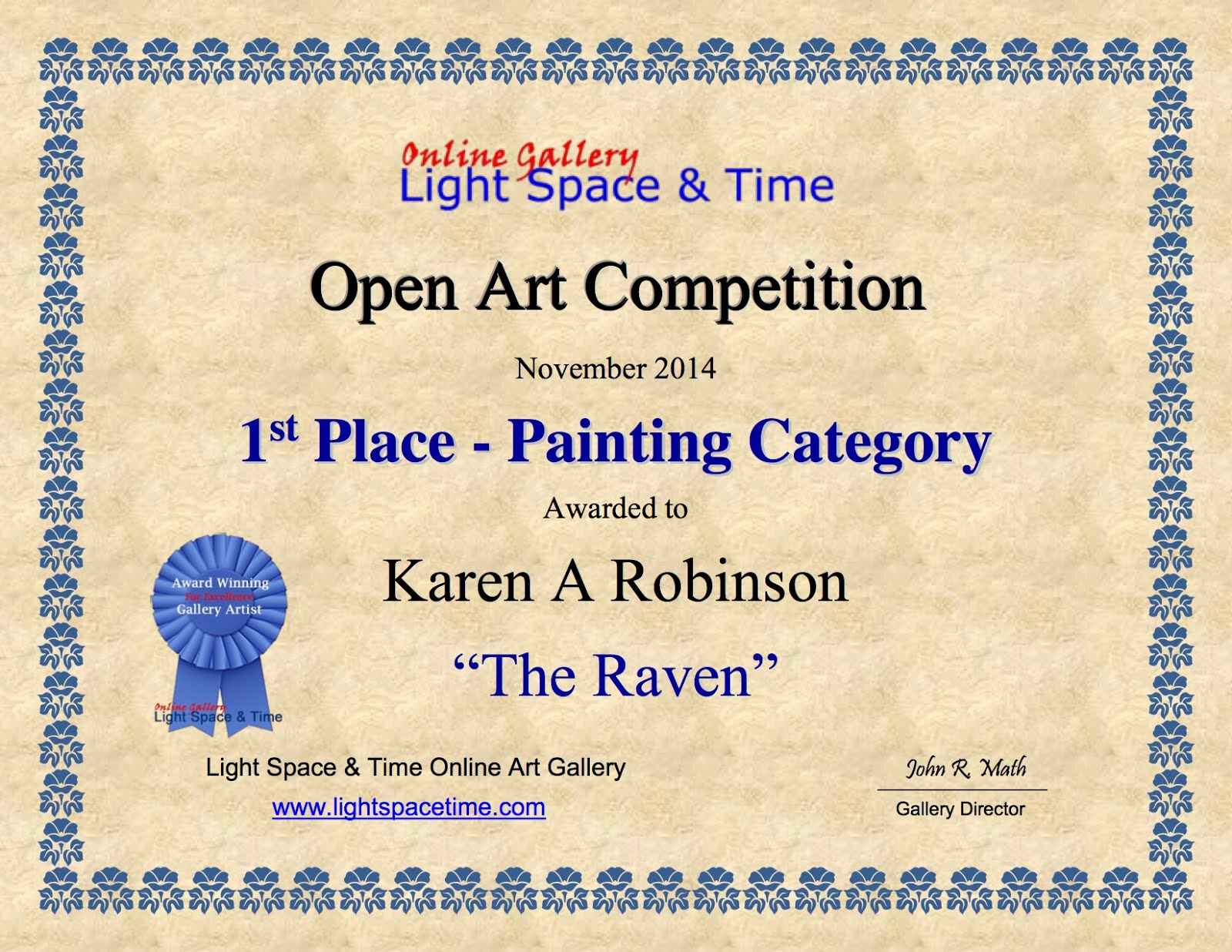 Open Art Competition 2014