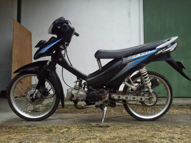 Modifikasi Honda Absolute Revo