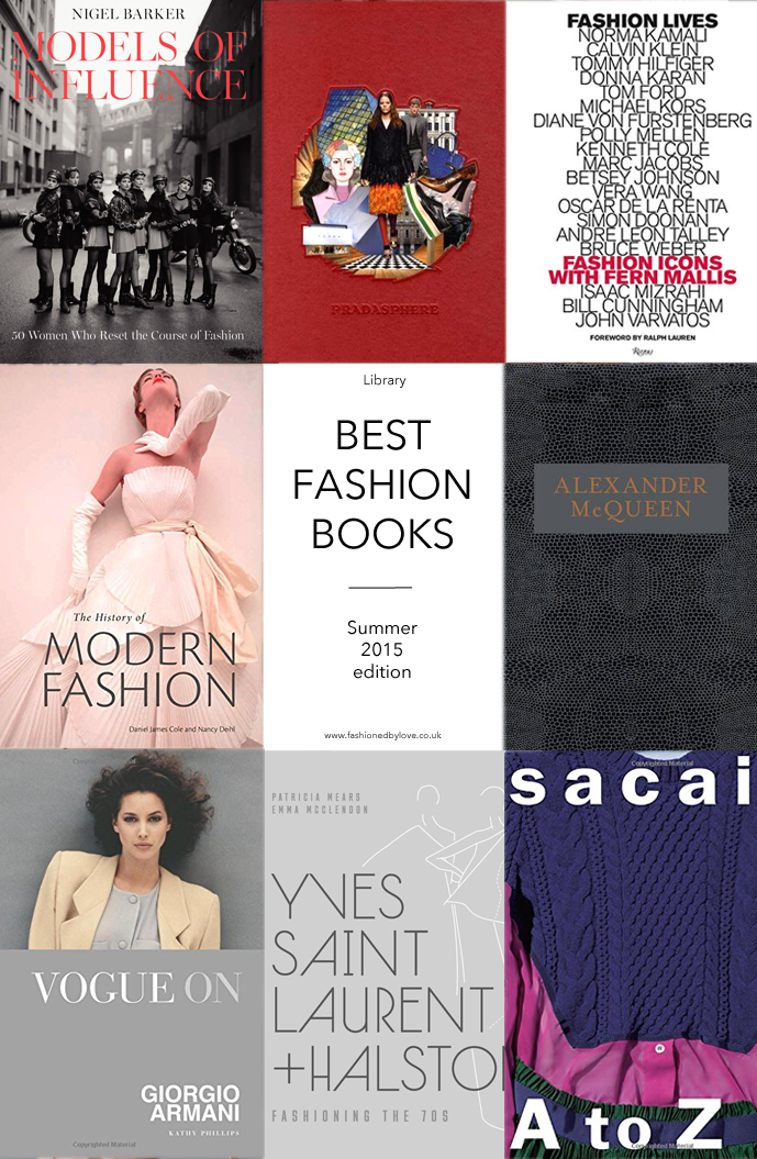 Best new fashion book releases Spring/Summer 2015 / Yves Saint Laurent, Halston, fashion models, Fashion Lives, Alexander McQueen, Savage Beauty, Sacai, Pradasphere, Giorgio Armani / via fashioned by love british fashion blog
