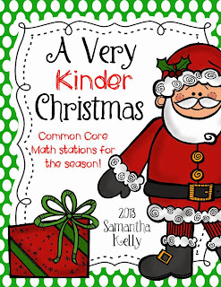 http://www.teacherspayteachers.com/Product/Christmas-Math-Stations-for-Kindergarten-981060