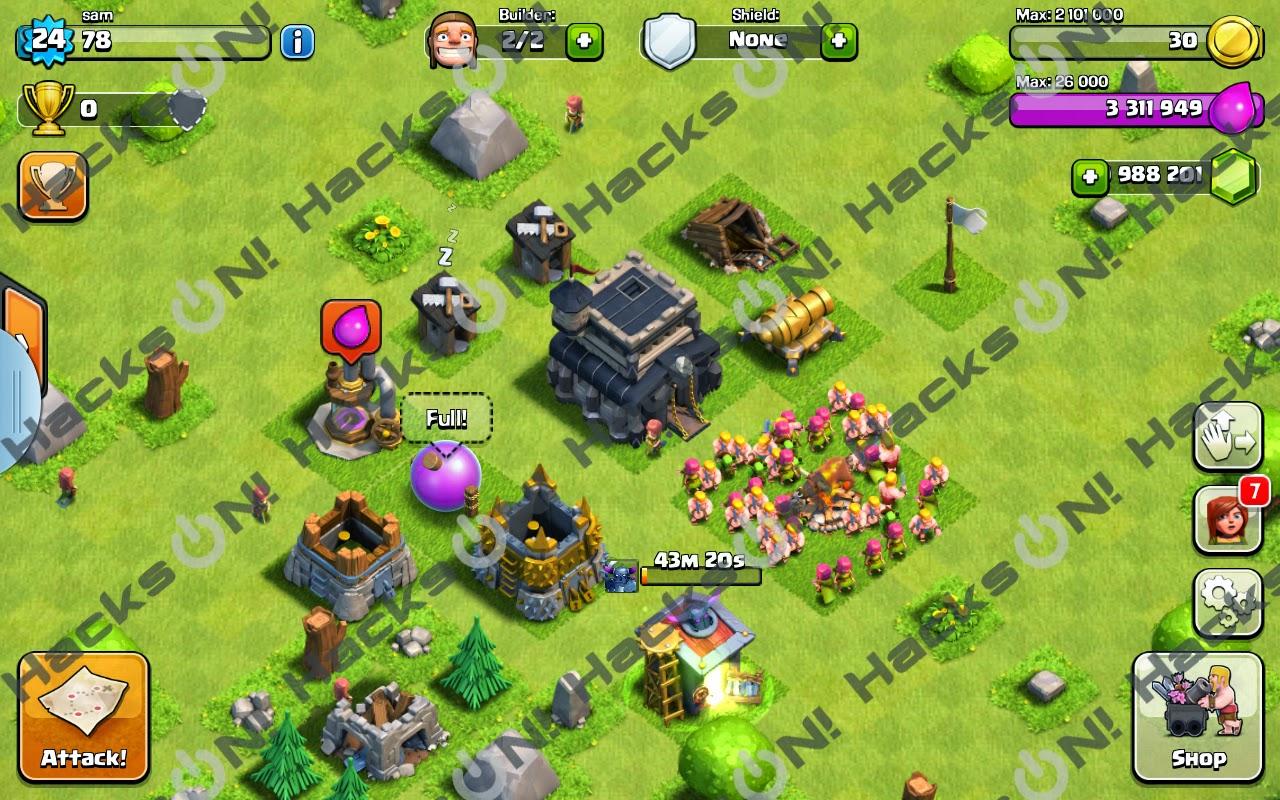 Clash of clans hack for free gems no survey - Clash of clans super ...