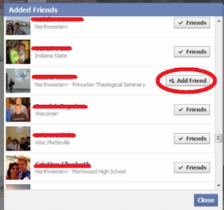 how to not let someone add you on facebook