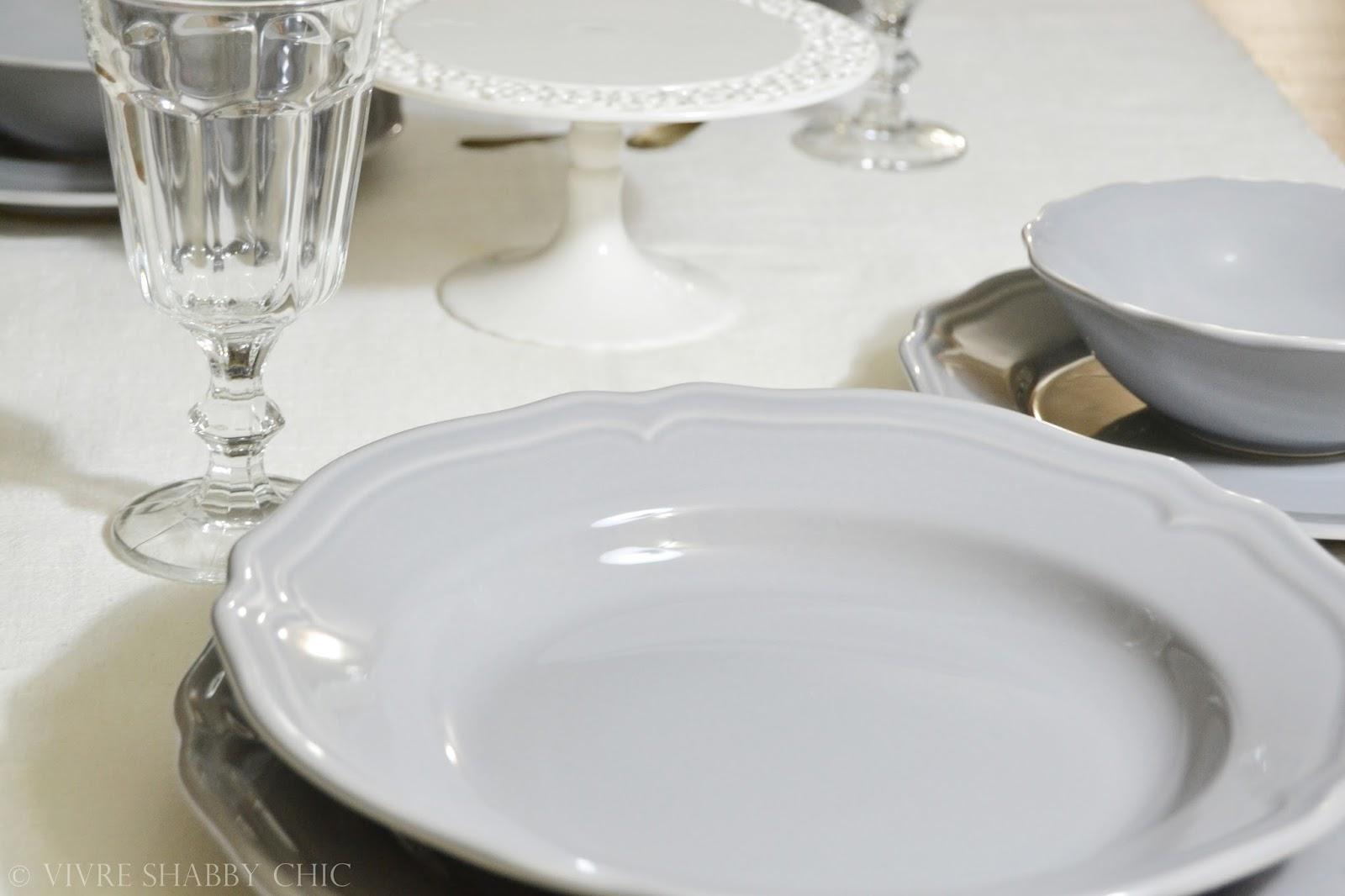 Vivre shabby chic shopping per la casa il mio nuovo for Servizio di piatti