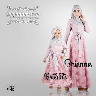 Ayyanameena Brienne Kids - GreyPink