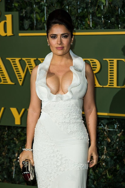 Salma Hayek at Standard Theatre Awards London
