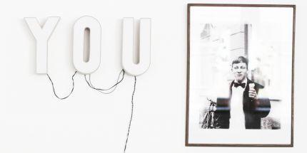DIY til et lysende statement du selv kan lave til væggen