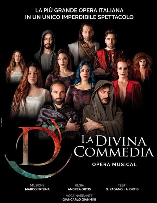 """""""LA DIVINA COMMEDIA"""" REGIA DI ANDREA ORTIS"""