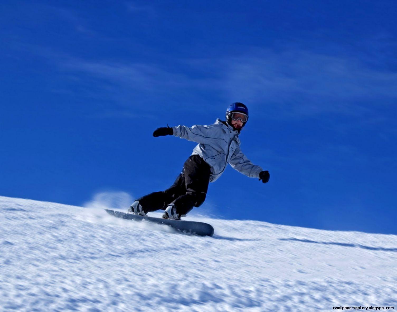 Snowboarding Mountain