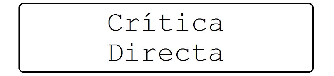 Crítica Directa
