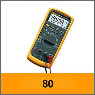 Digital Multimeter  Fluke 80 Series V