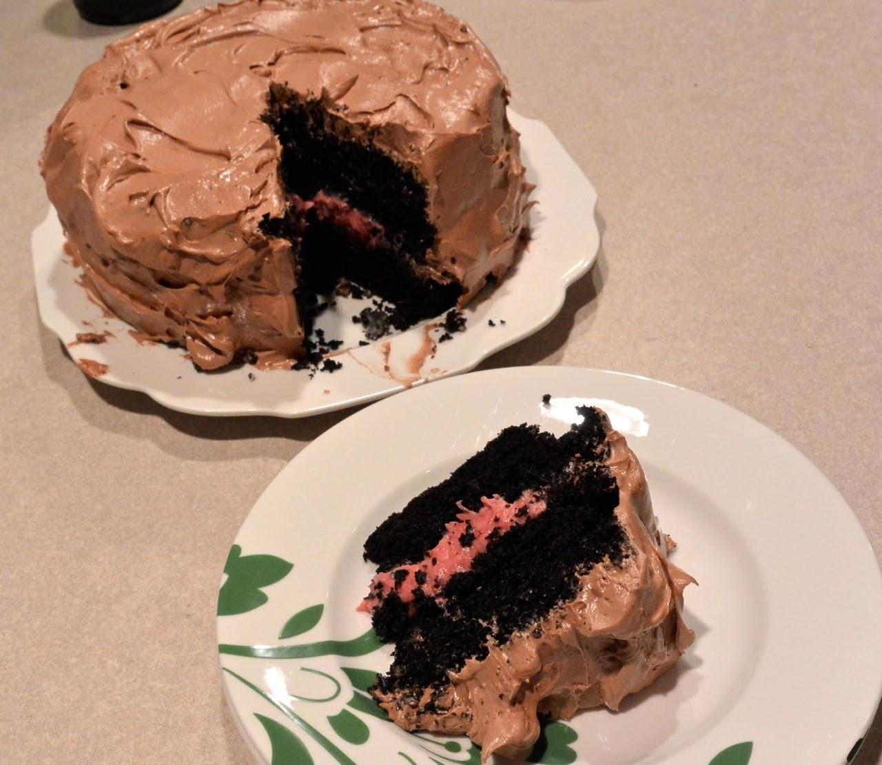 Happy 35th Birthday Highlands Ranch: Mixin' Mom: Dark Chocolate Raspberry Birthday Cake