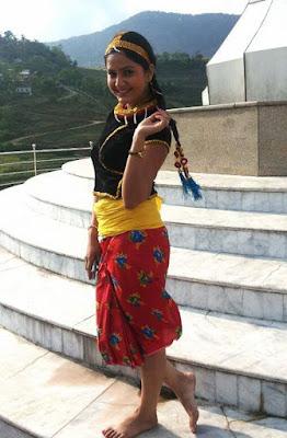 Nepali Actress Barsha Siwakoti-Nepali Dress