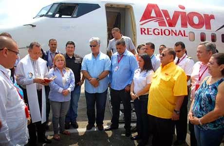 """Reactivaron vuelos comerciales en Aeropuerto """"Antonio Nicolás Briceño"""""""