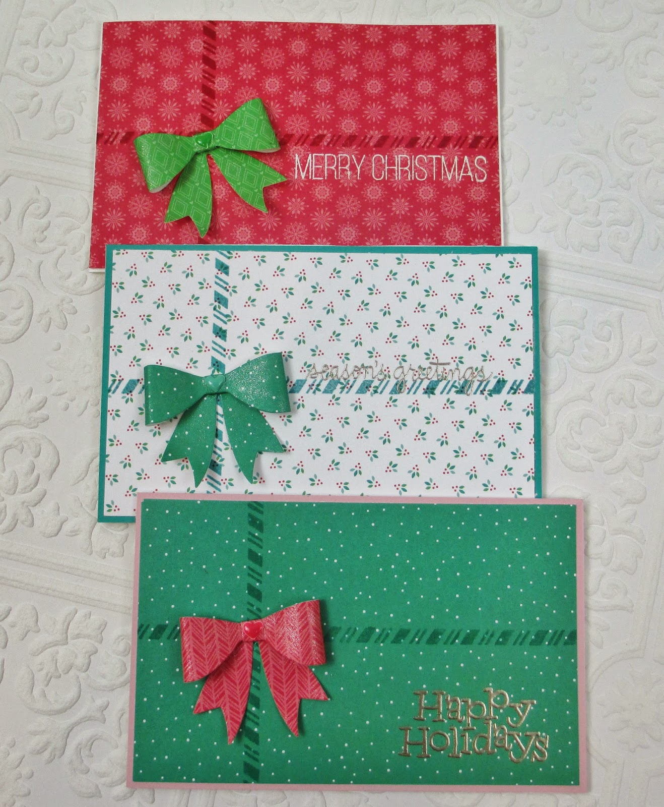 Handmade by Heather Ruwe: Simple Gift Card/Money Holder Cards