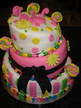 Whimsical Candy Cake