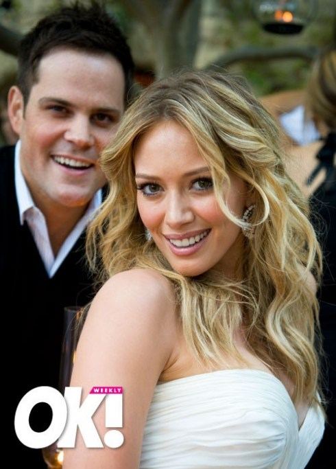 One of my favorite celebrity weddings hillary duff and mike it did appear that she may have had some work on her face done prior to the day as it was looking pretty tight and flawless junglespirit Images