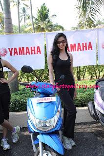 Archita Sahu Photo-shoot at Yamaha campaign