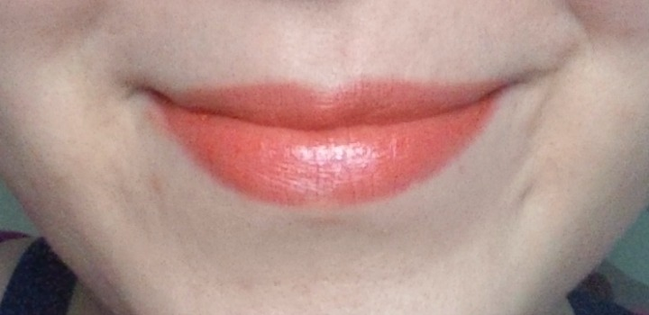 Fyrinnae Lip Lustre in Meloncholy lip swatch swatches