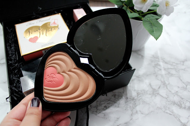 Too Faced Carrie and Big Blushing Bronzer