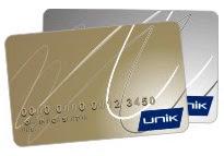Cartão Unik