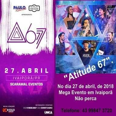 IVAIPORÃ - Mega evento, não perca