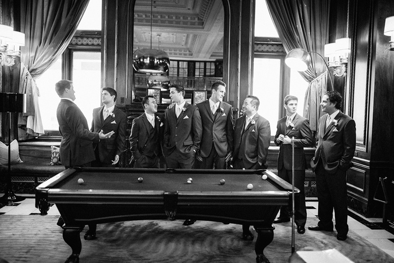 Chicago groomsmen pool