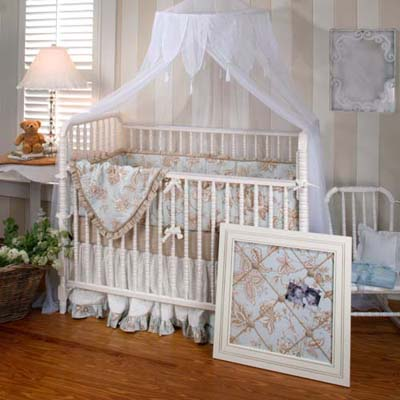 Decor  Baby Nursery on Contemporary White Baby Crib Design