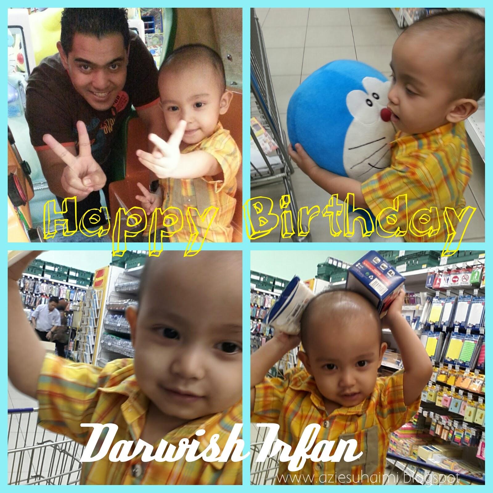 Darwish Irfan sudah 2 tahun