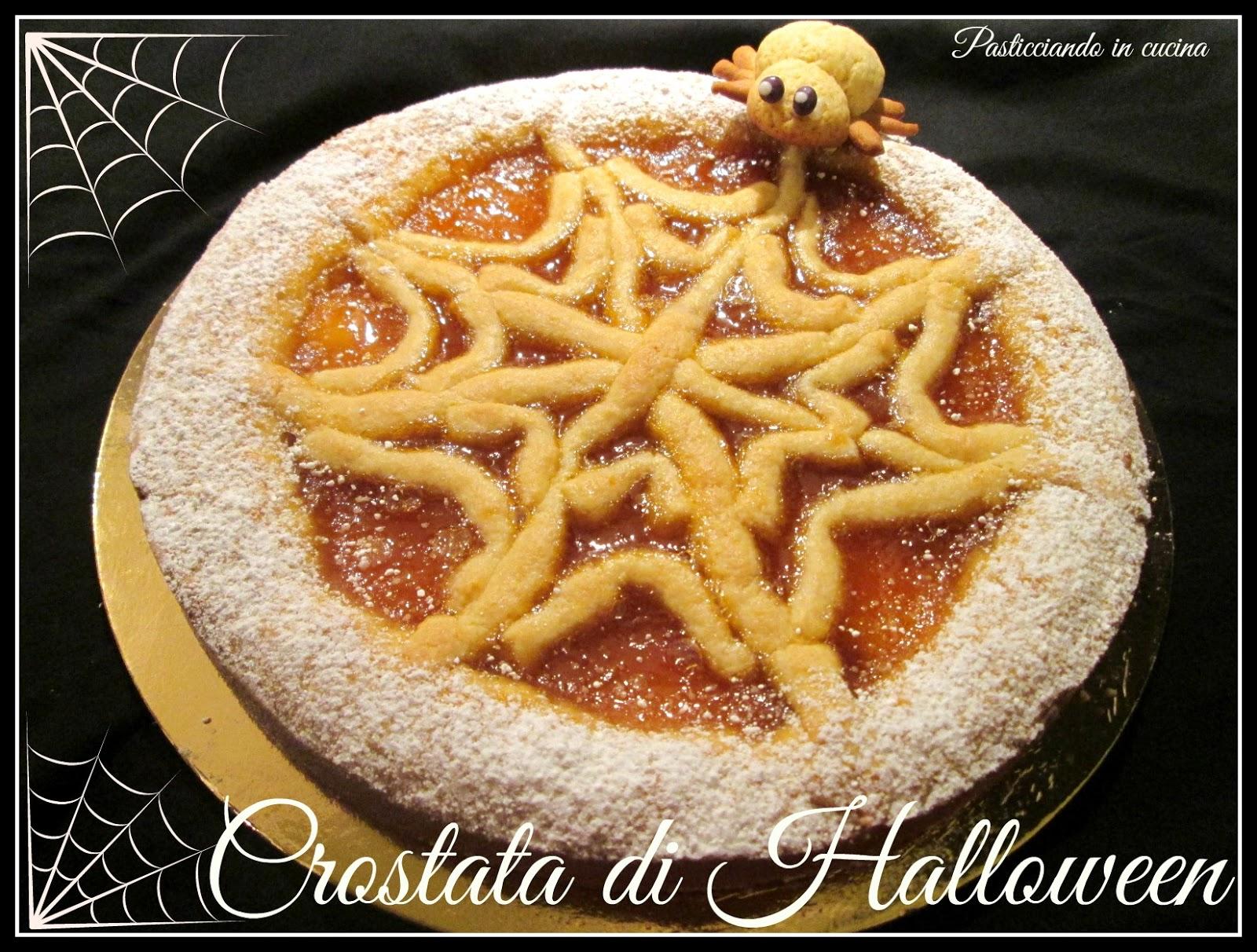 Pasticciando in cucina: Crostata di Halloween