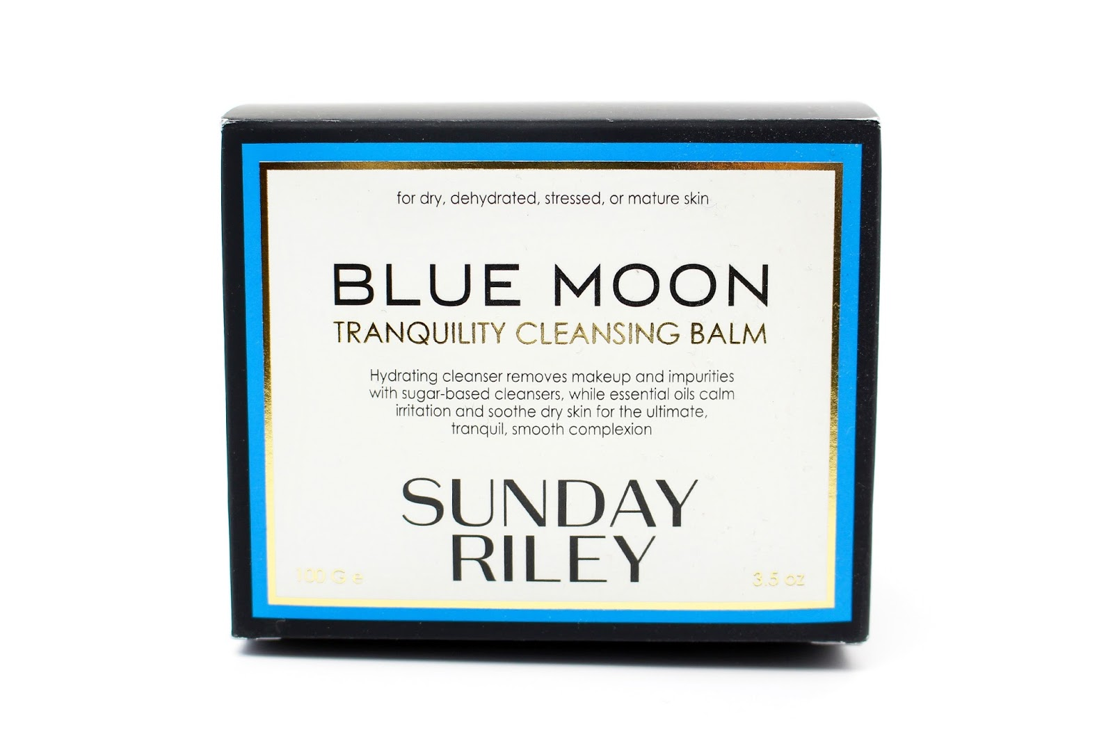 Sunday Riley Blue Moon Tranquility Cleansing Balm Review