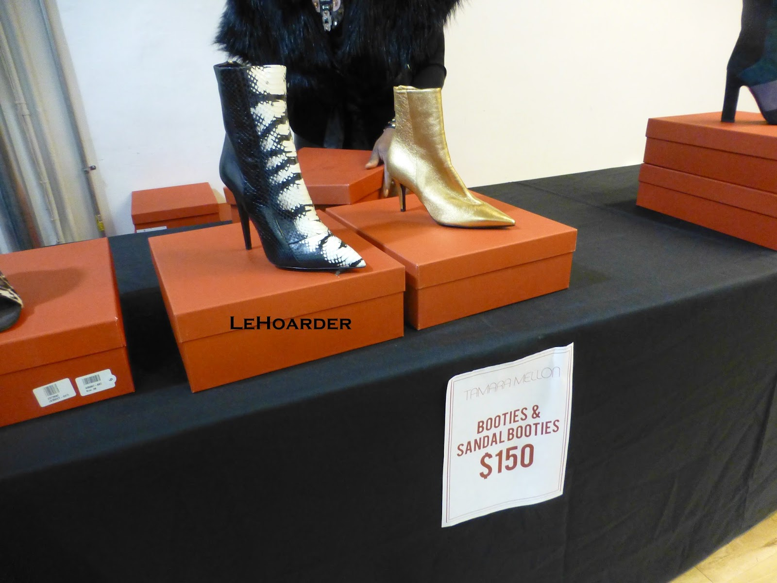 Tamara Mellon 2015 NYC Sample Sale Report | Le Hoarder