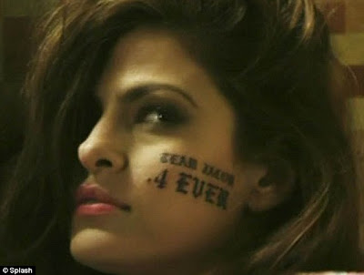 Tat's not a good look: Eva Mendes starred in a Hangover spoof with Jason ...