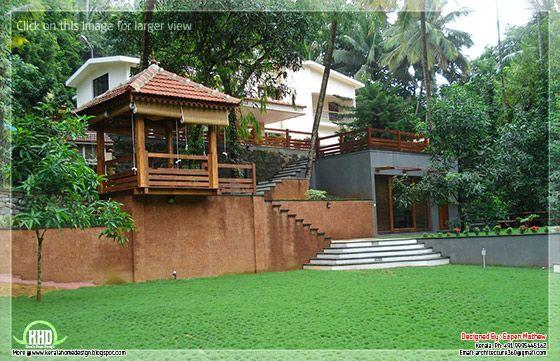Villa #10 landscape view