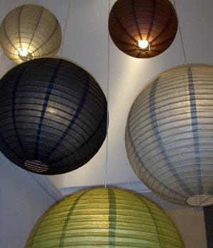 Decoraxpoco las lamparas de papel est n a la ltima for Lampara globo ikea